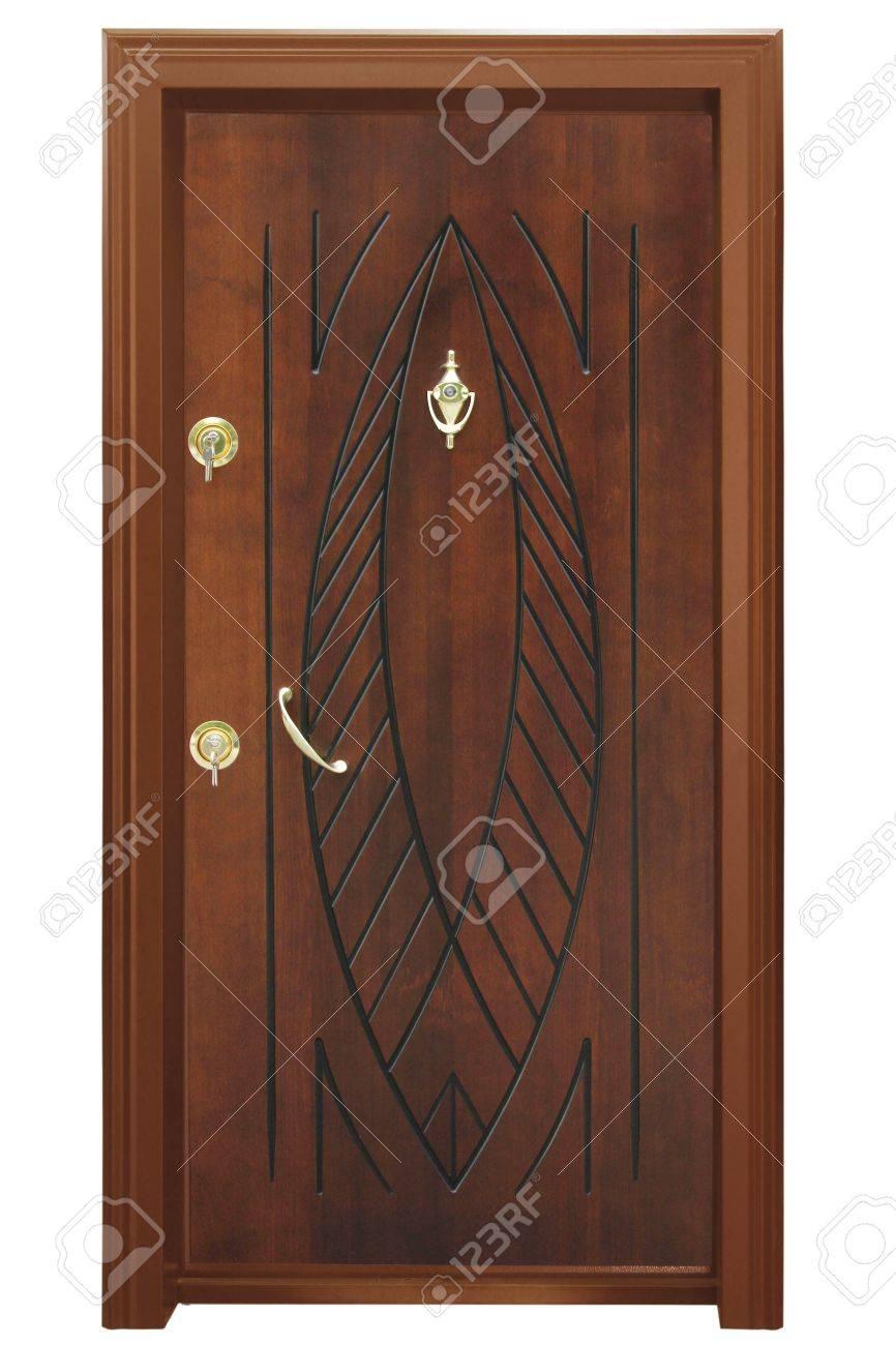 Wood door Stock Photo - 18623522