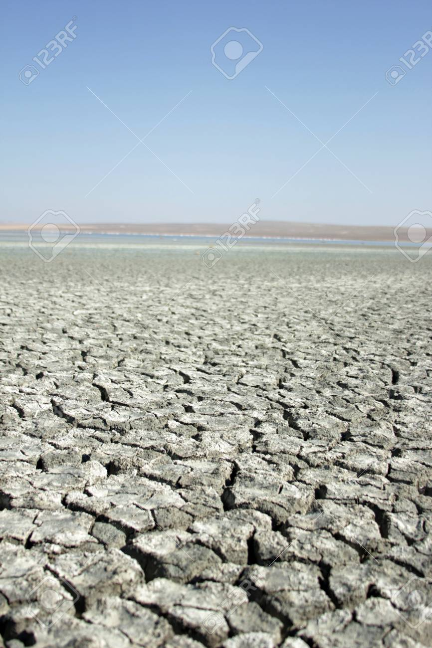 salt lakes and barren lands in Turkey Stock Photo - 103511185