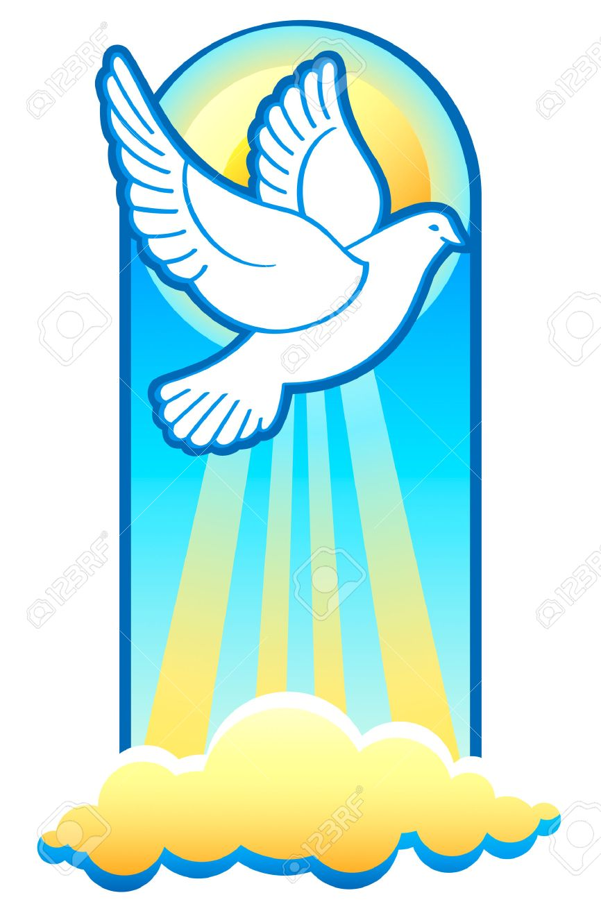 Dove is the holy spirit christian trinity symbol royalty free dove is the holy spirit christian trinity symbol stock vector 4438499 biocorpaavc