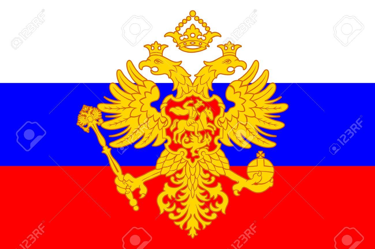 Eagle Mutter Russland Vektor Illustration 96980640 | iStock