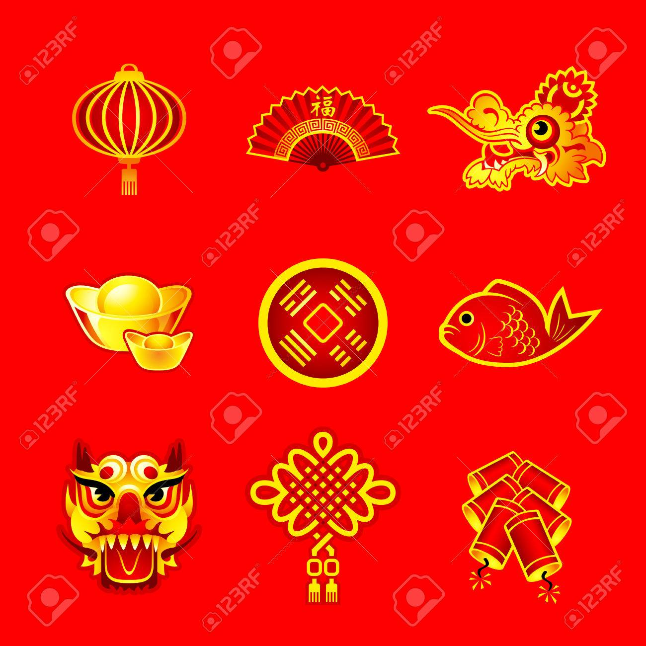 chinese new year decorations ornaments and symbols royalty free cliparts vectors and stock illustration image 43638664 123rf com