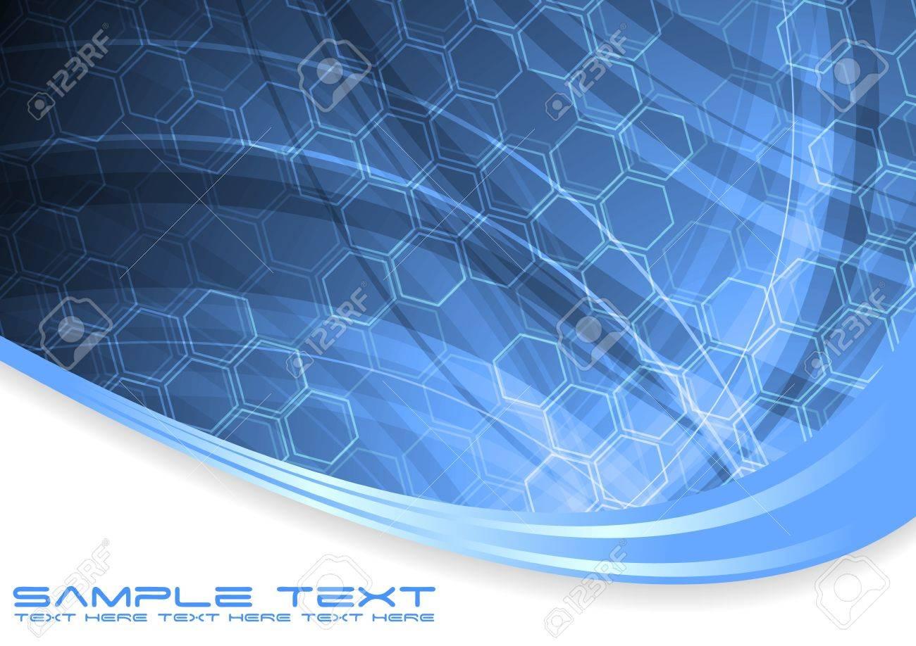 Vector illustration of creative hi-tech backdrop Stock Vector - 8499842