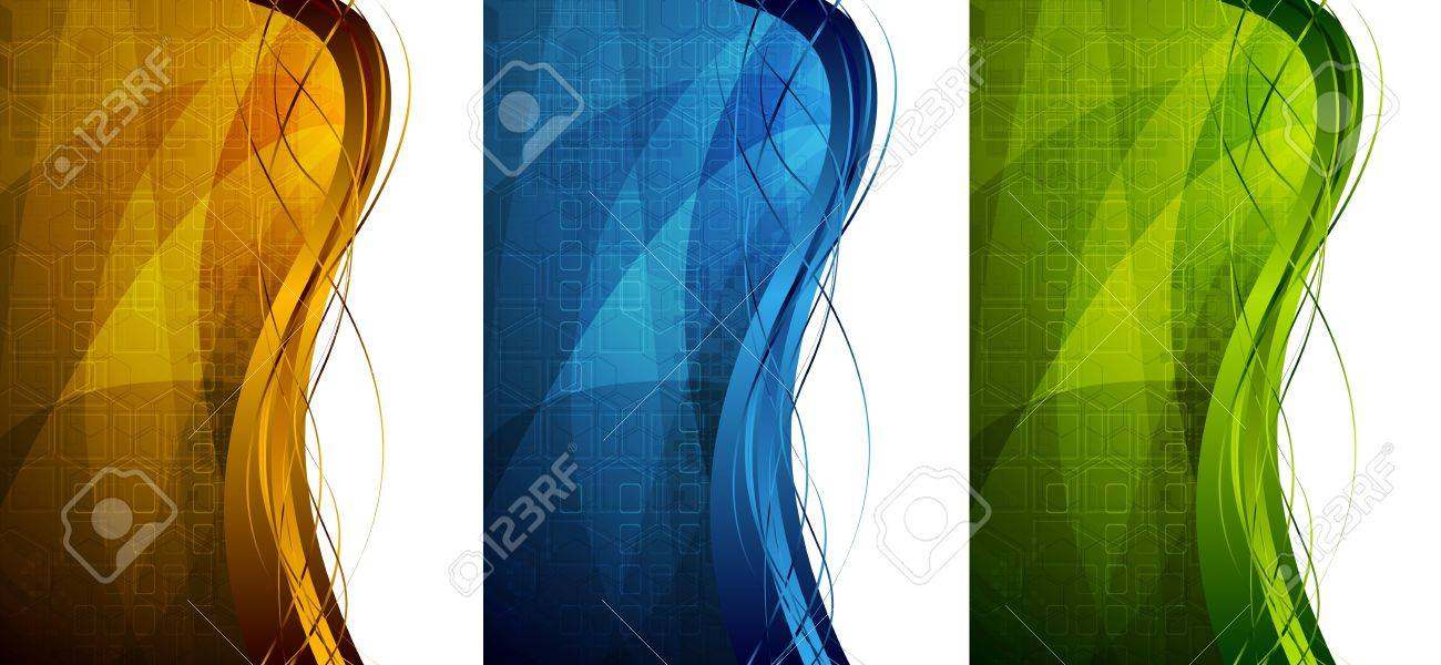 Abstract technical banners. Vector illustration eps 10 Stock Vector - 9233637