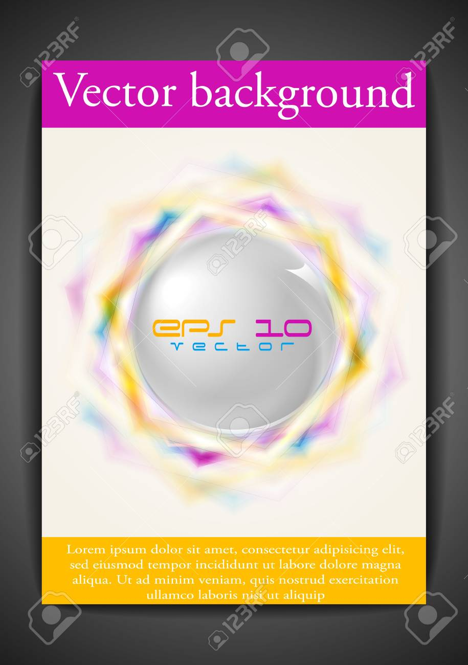 Elegant background. Stock Vector - 10095848