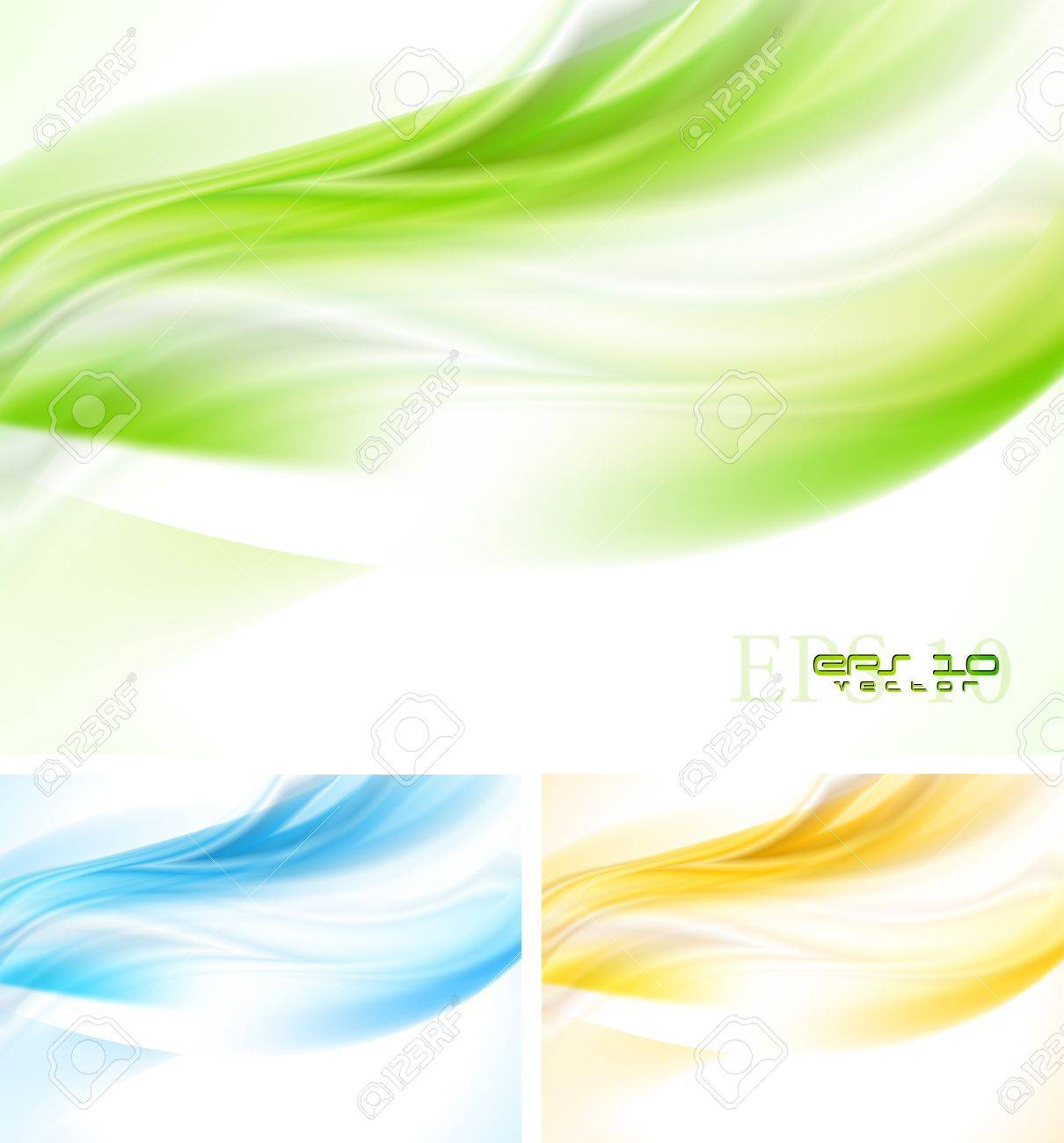 Bright wave backgrounds. Stock Vector - 14158886