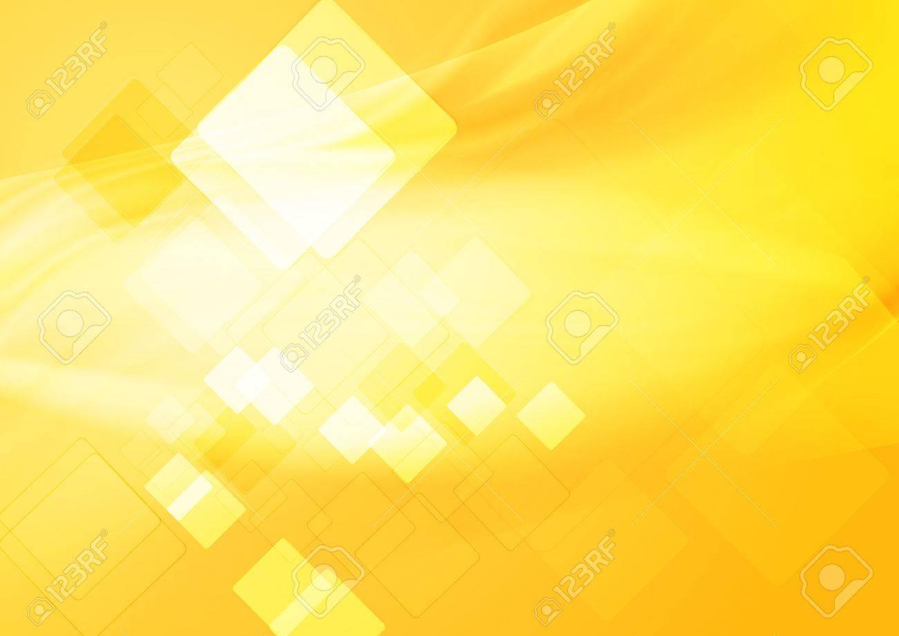 Bright yellow hi-tech background. Stock Vector - 14158686