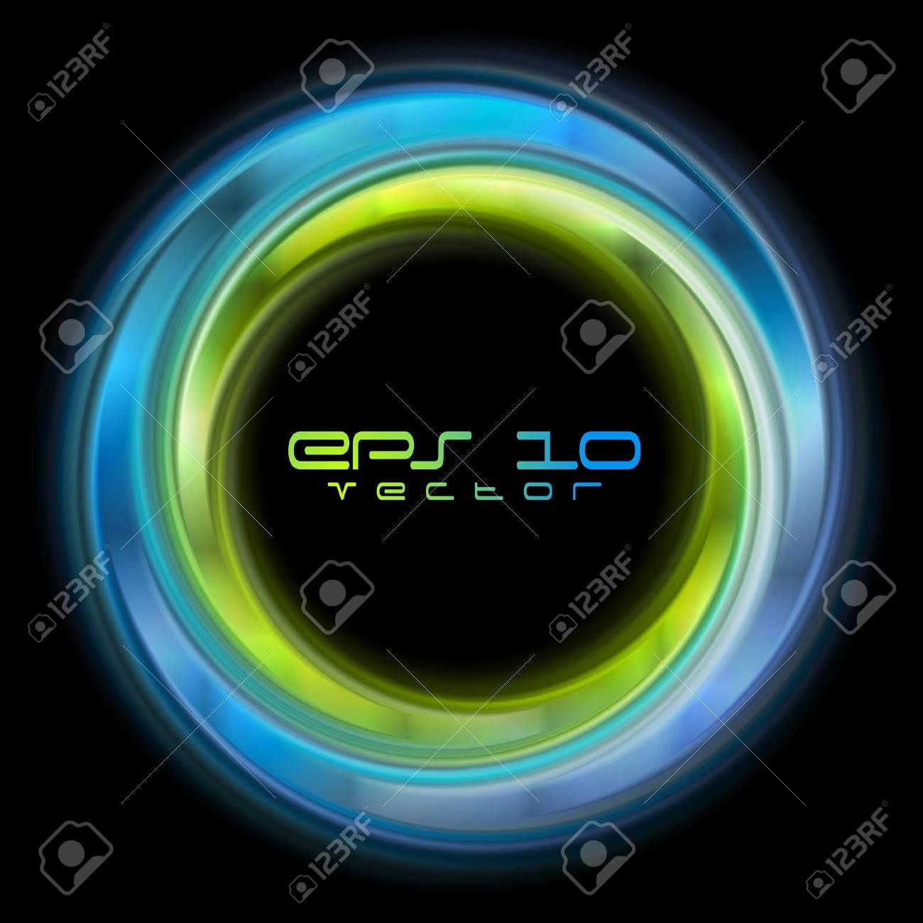 Abstract shiny circles background Stock Vector - 17209873