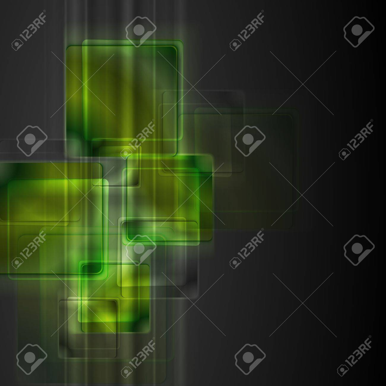 Dark abstract technology design. Vector background eps 10 Stock Vector - 17386294