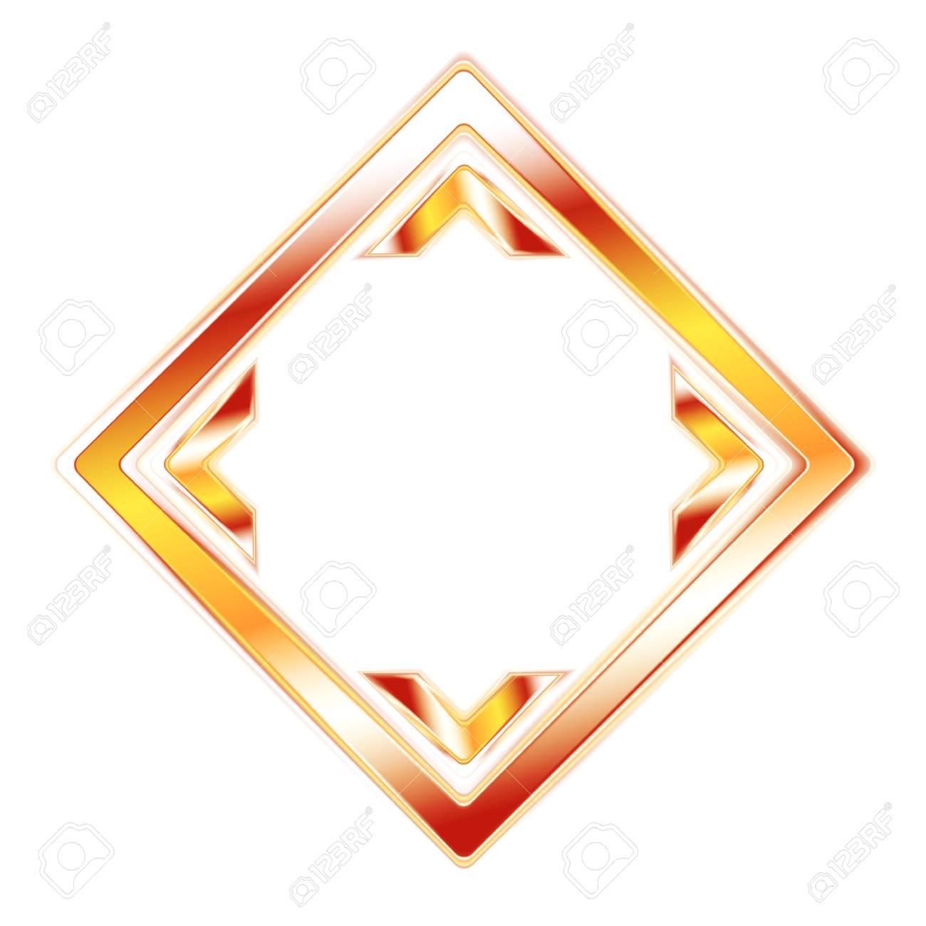 Abstract elegant orange shape. Stock Vector - 17970677