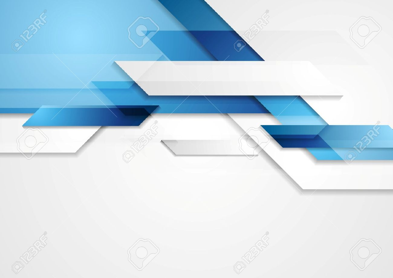 Blue shiny hi-tech motion background. Vector design Stock Vector - 33992994