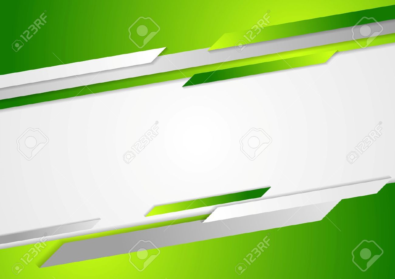 Abstract Green Corporate Background Vector Design