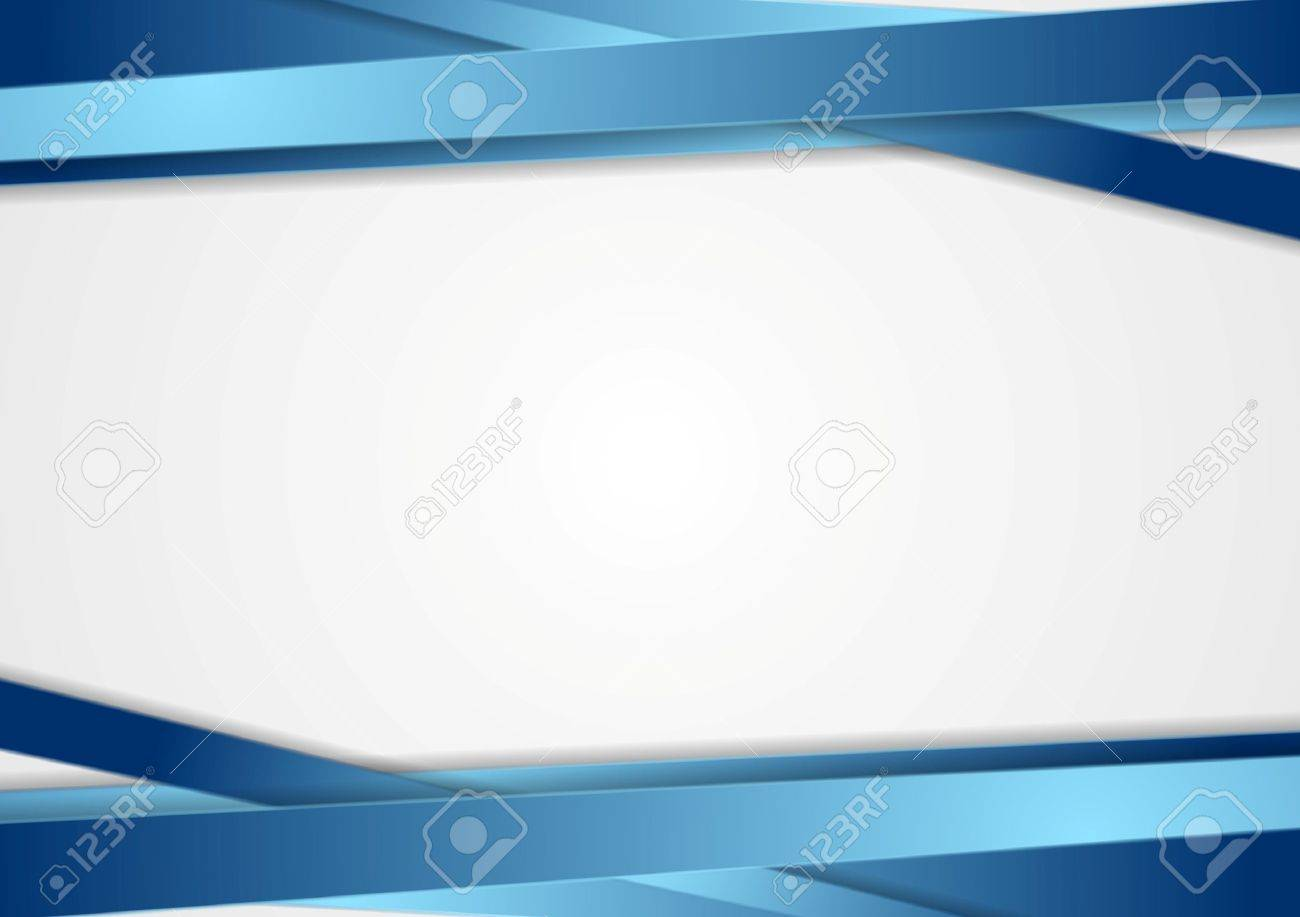 Tech abstract background with blue stripes. Vector design Stock Vector - 44083067