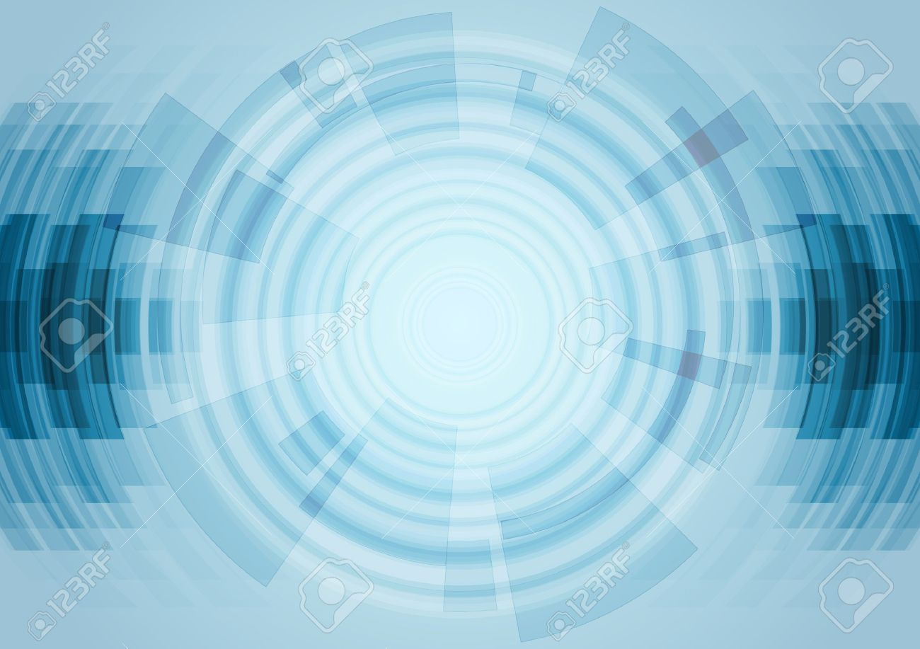 Blue Abstract Technology Background Vector Design Illustration
