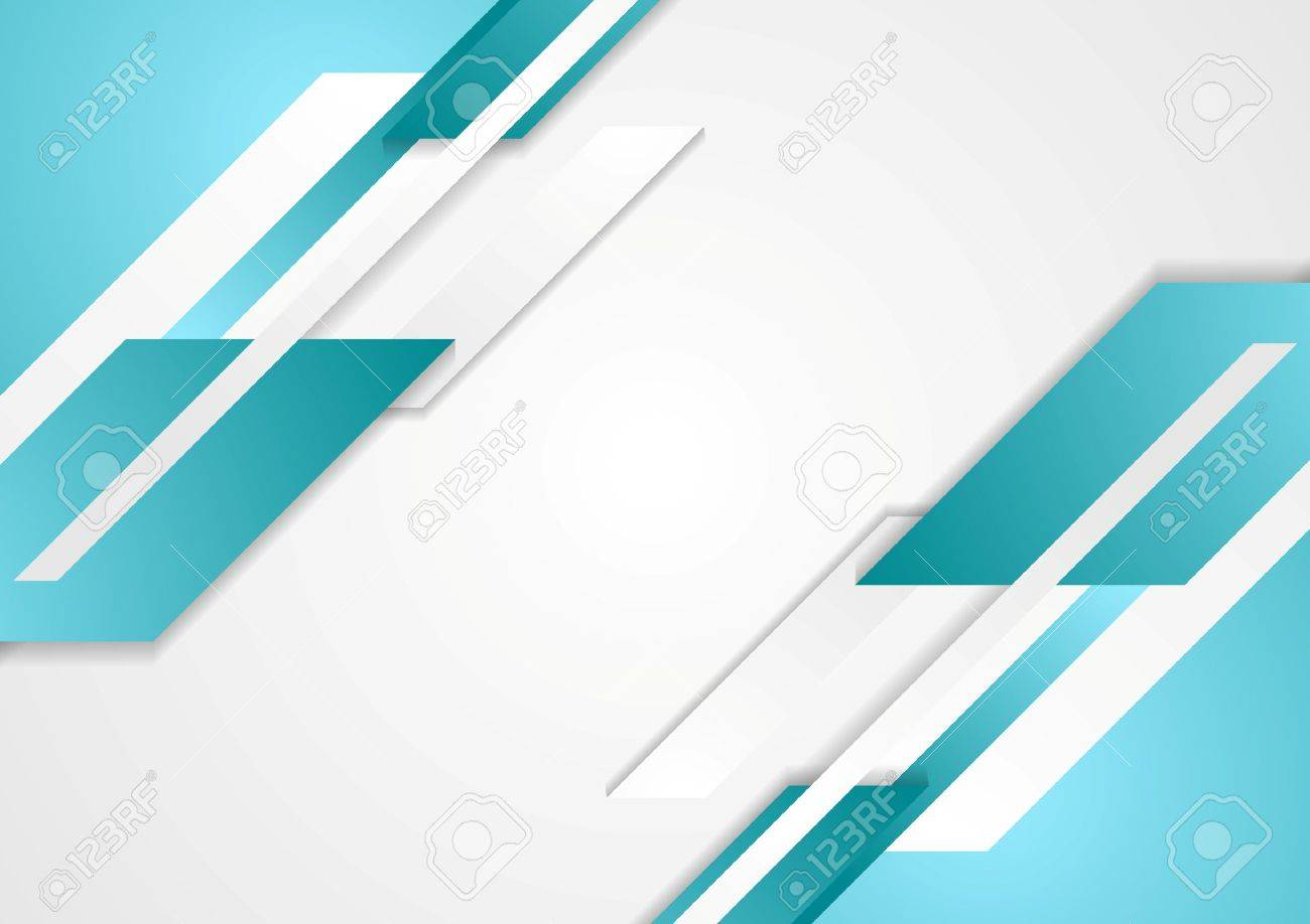 Abstract tech bright geometric background. Vector design - 50430945