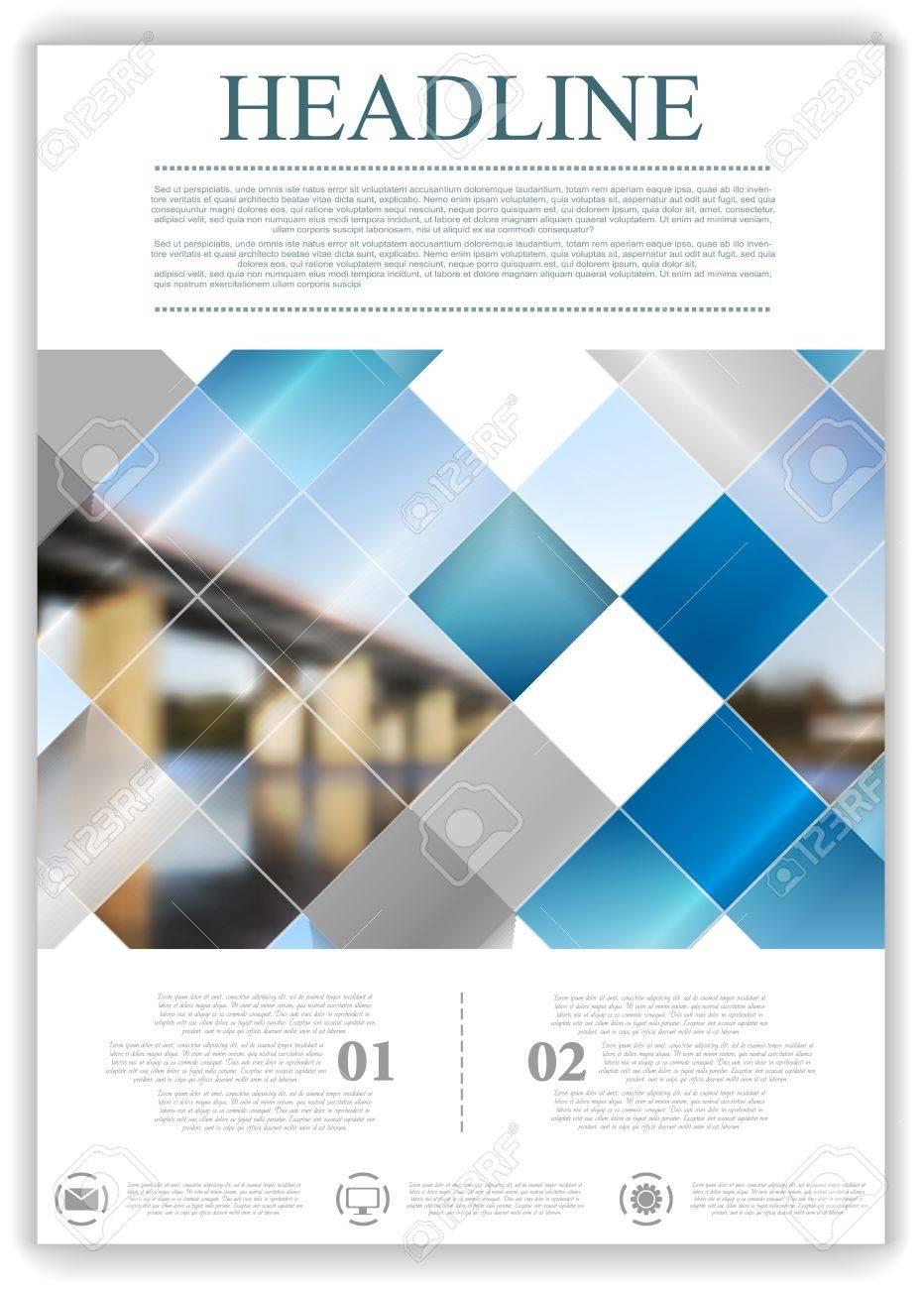 Resumen Geometric Plantilla De Plantilla De Diseño Con Puente De ...
