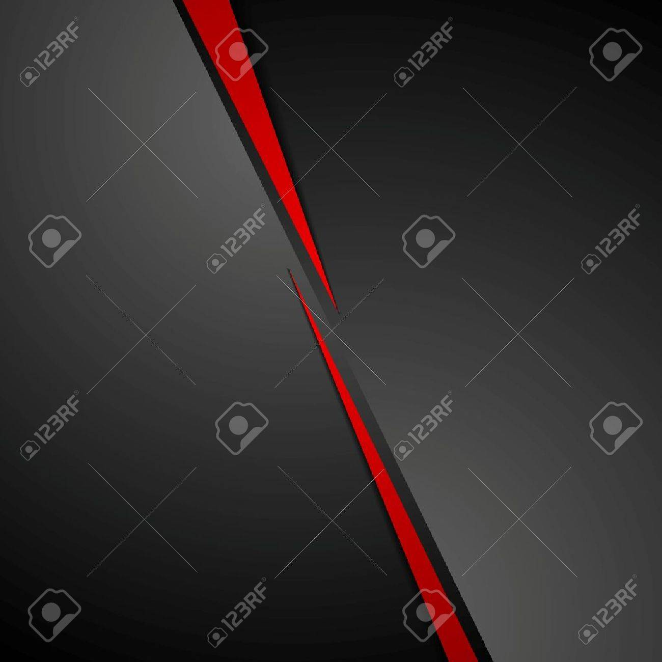 Abstract dark red black corporate tech background. Vector graphic design - 56767854