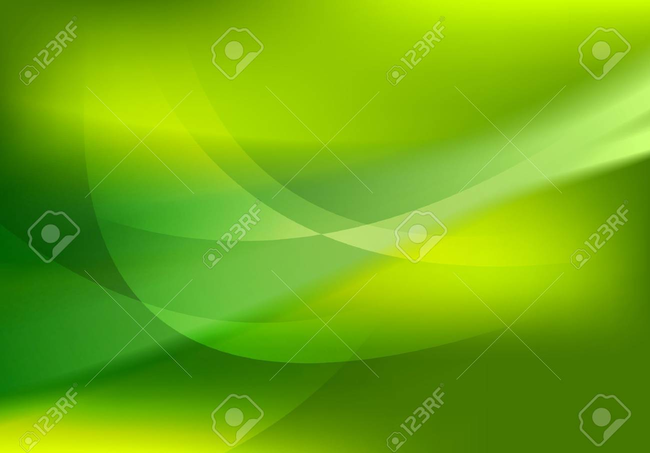 Abstract green soft waves shiny background. Vector graphic design - 60807605