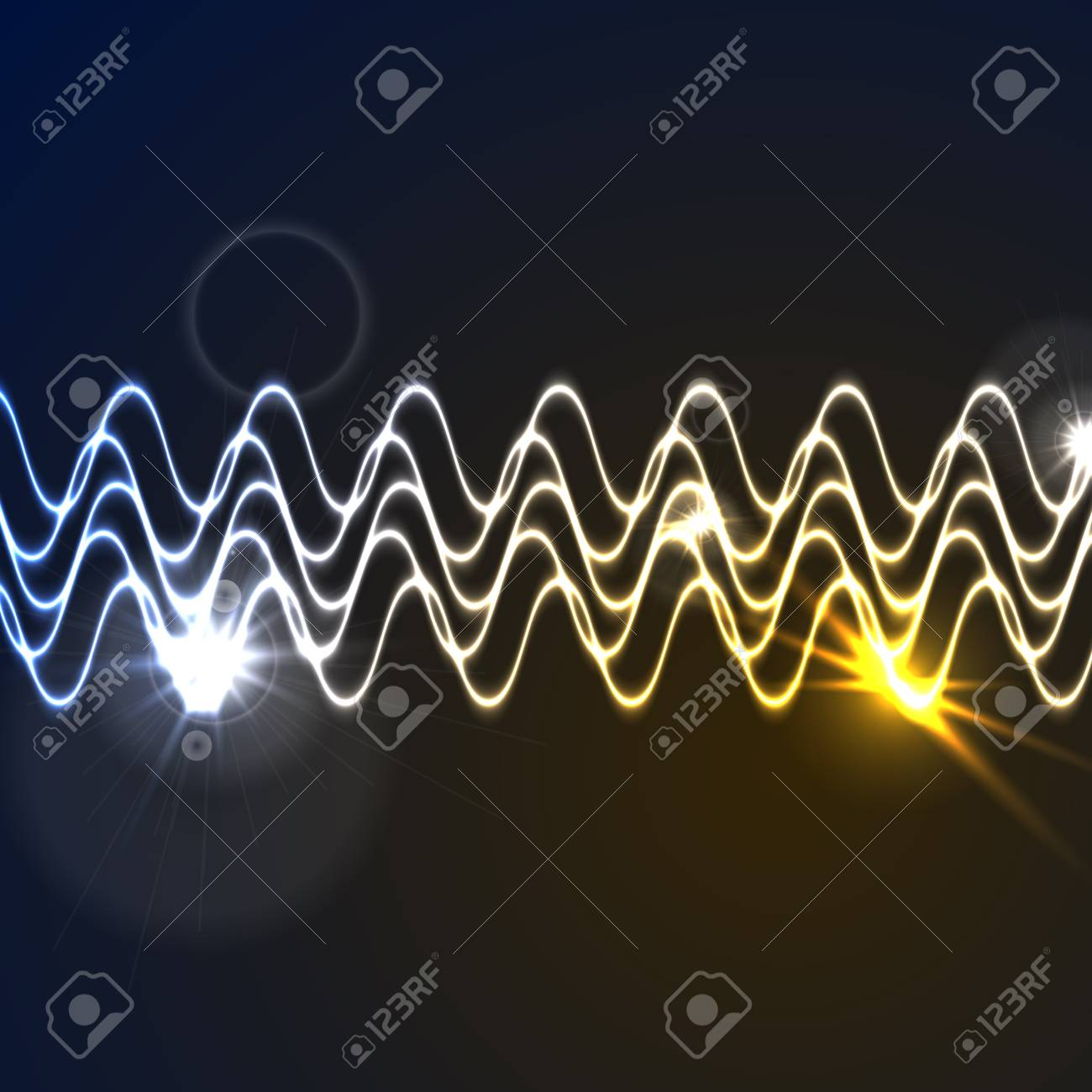 waveform background