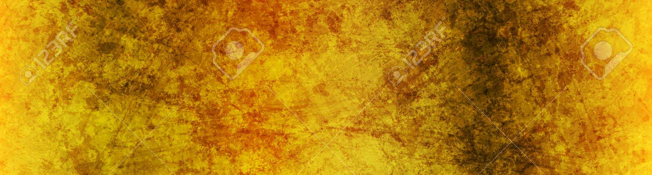 Golden grunge textural concrete wall - 169500862