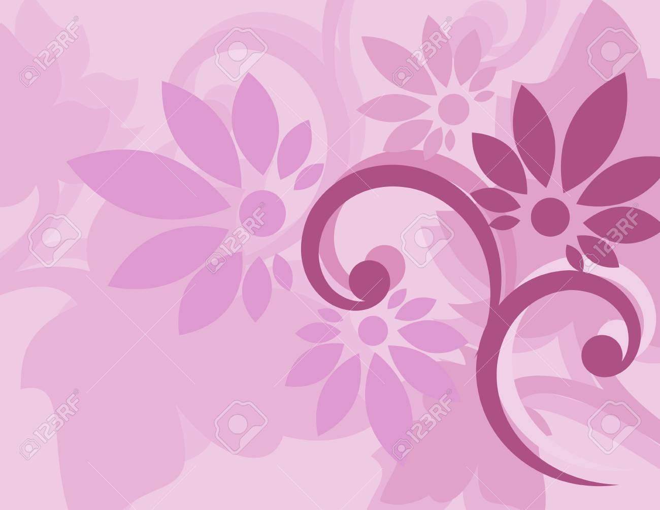 Carta Da Parati Damascata Rosa : Carta da parati floreale viola senza soluzione di continuità