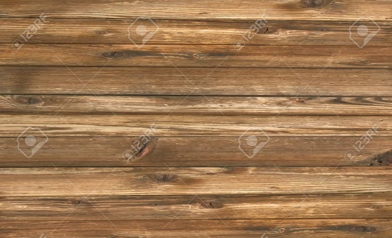 Vector wood plank background - 81141206