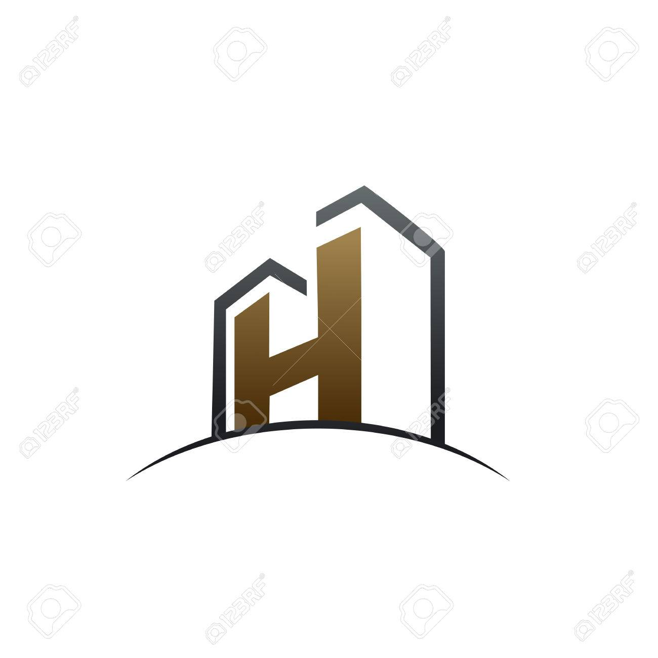 Letter h construction logo design concept template royalty free letter h construction logo design concept template stock vector 83305294 pronofoot35fo Gallery