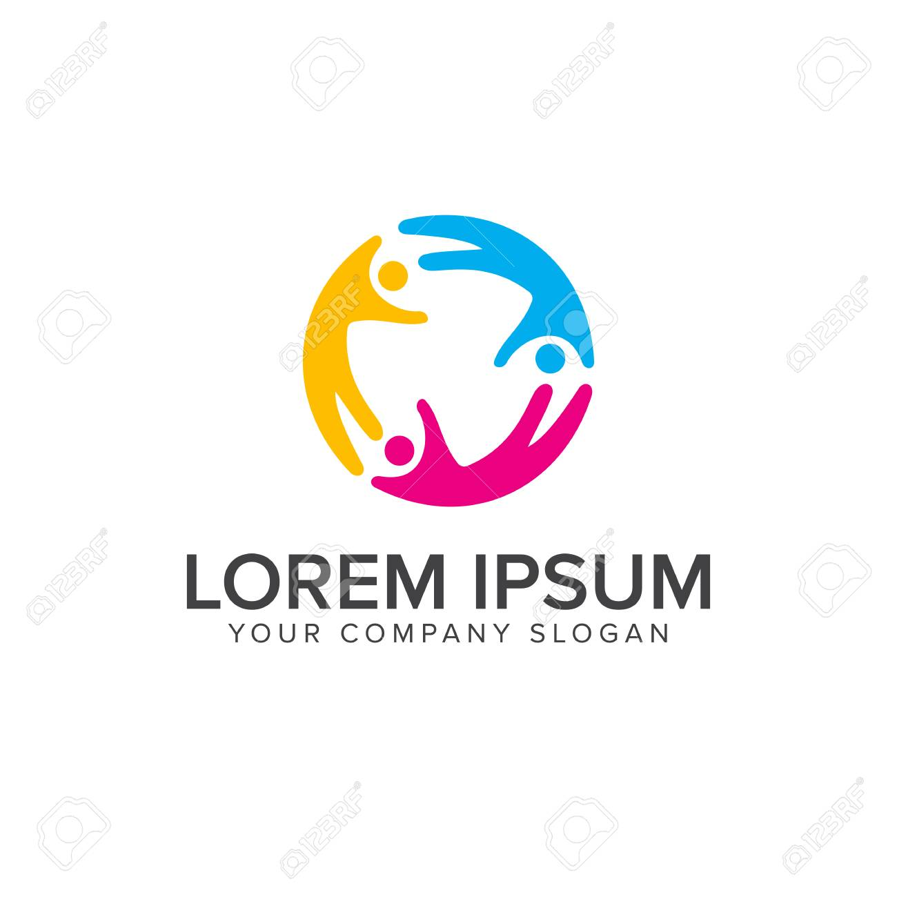 relationship people logos school education logo design concept