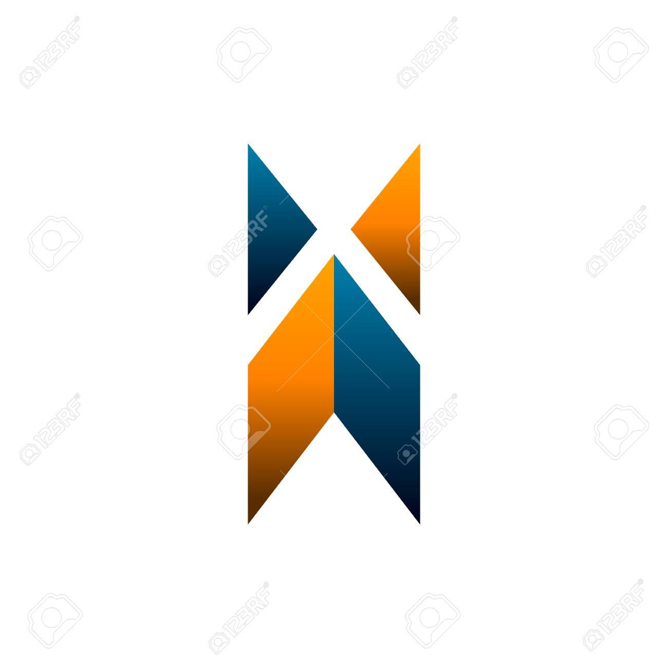 Letra X Logo. Construcción Logo Diseño Concepto Plantilla ...
