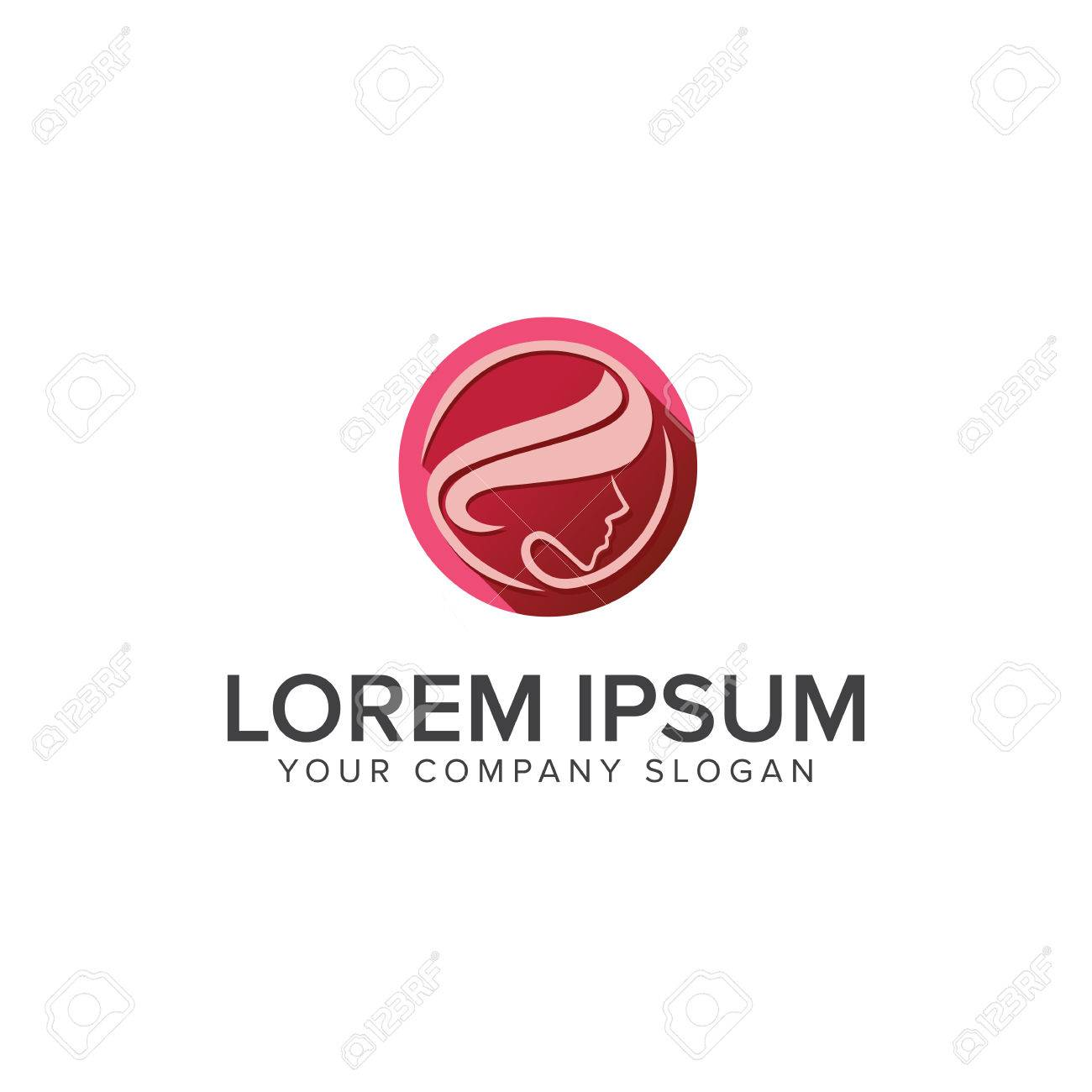 Beautiful Women Logos Spa Cosmetics And Beauty Logo Design
