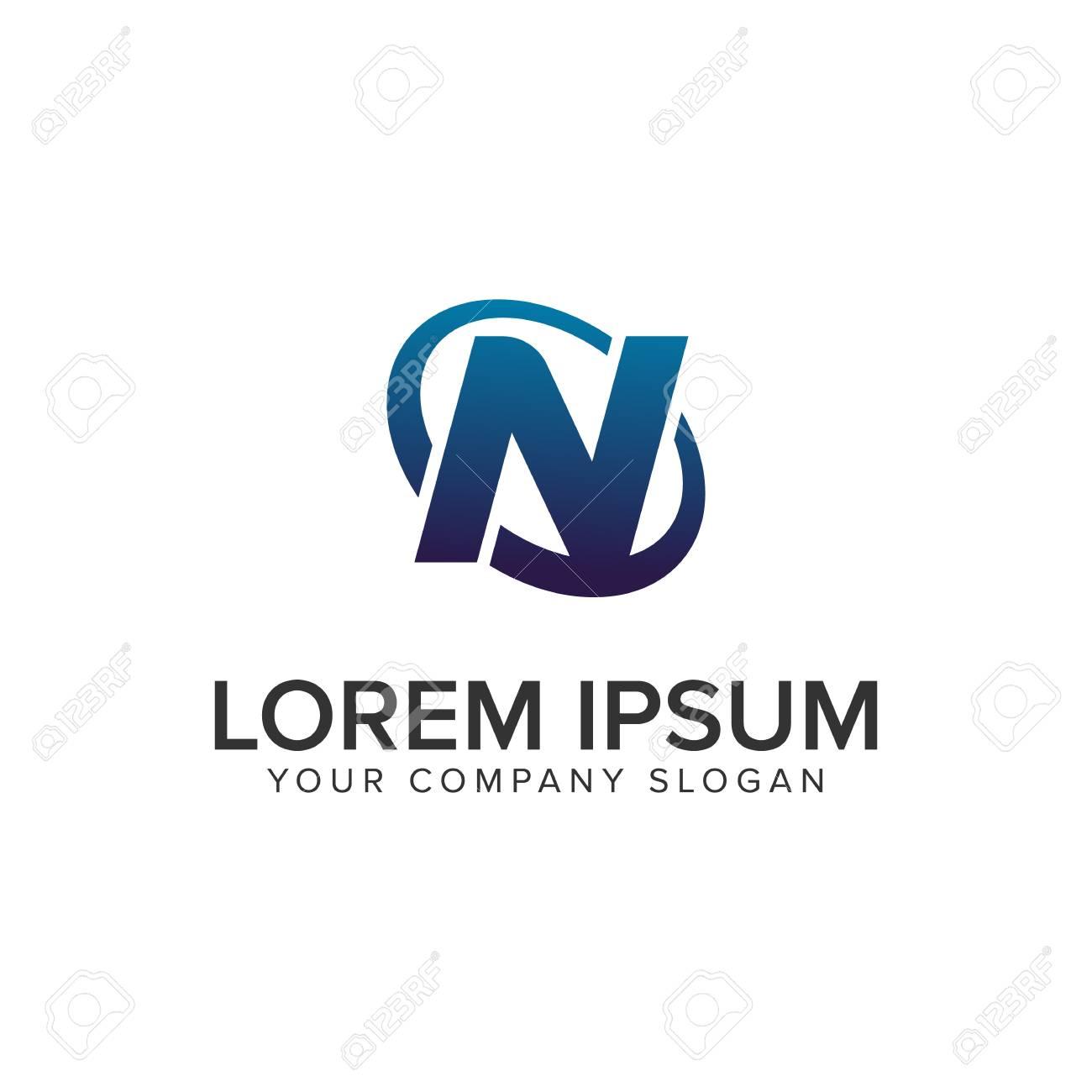 Creative modern letter n logo design concept template fully creative modern letter n logo design concept template fully editable vector stock vector 94662093 maxwellsz