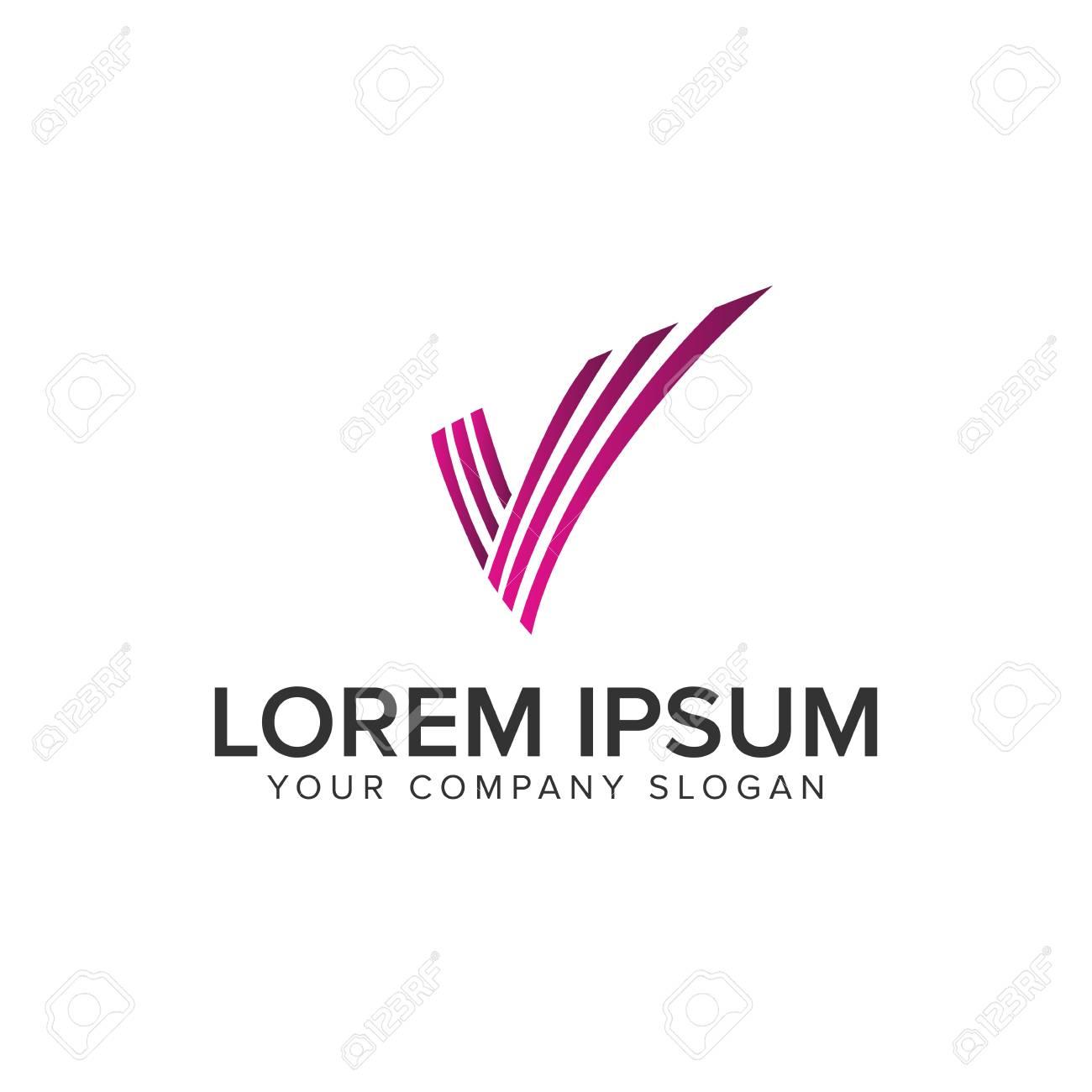 Letter V logo - 94651409
