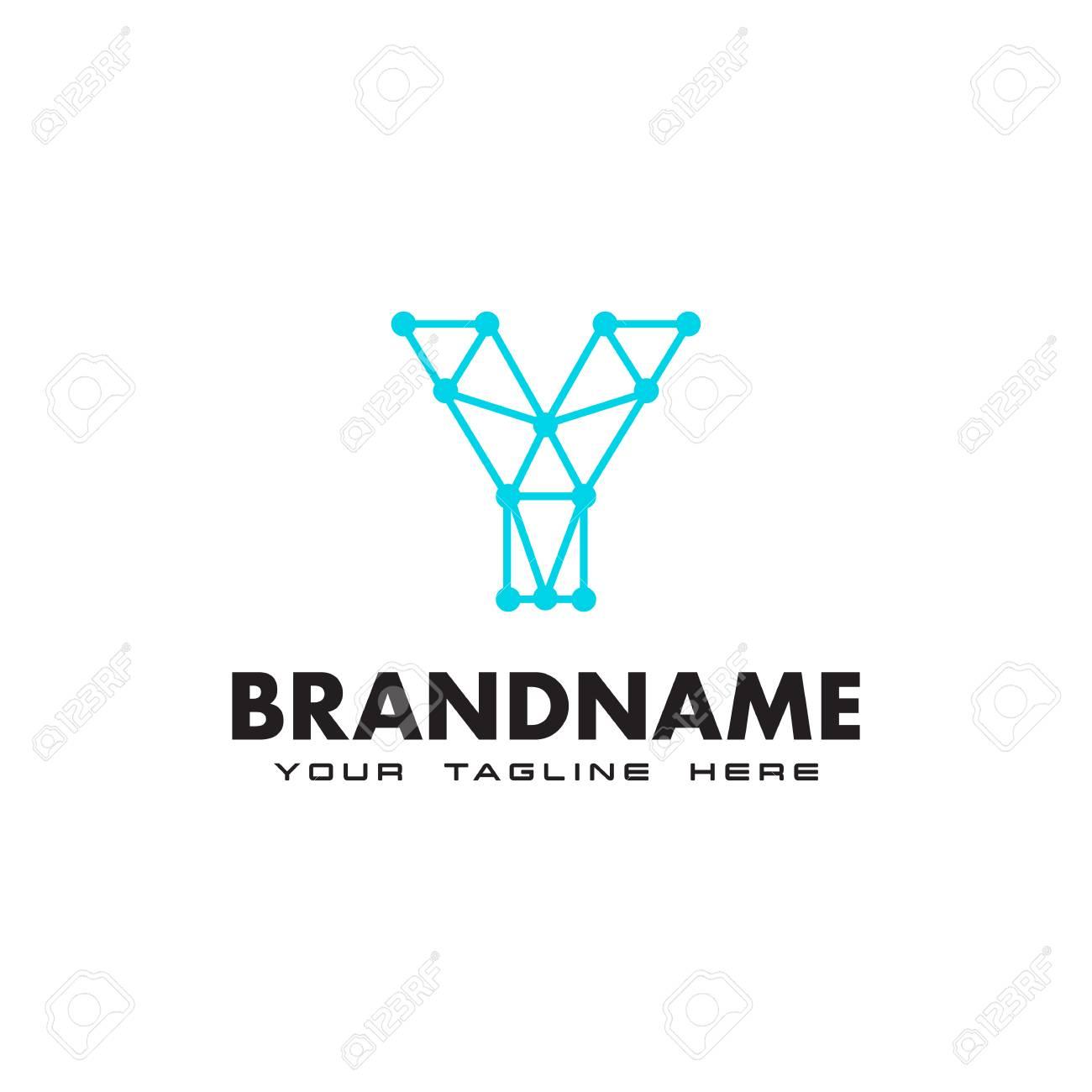 Letter y dot network connection logo design template royalty free letter y dot network connection logo design template stock vector 106812187 maxwellsz
