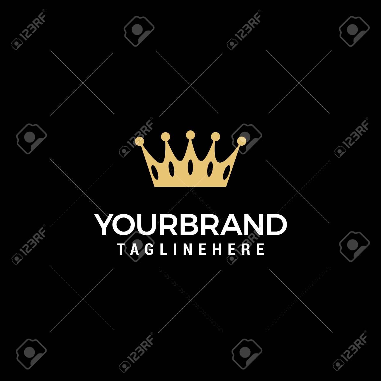Creative Crown Concept Logo Design Template - 113802018