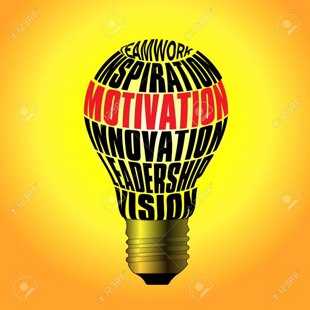 bulb of teamwork inspiration motivation innovation leadership bulb of teamwork inspiration motivation innovation leadership vision stock photo
