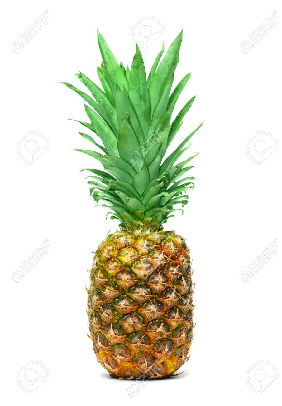 Pineapple isolated on white background Stock Photo - 6788216