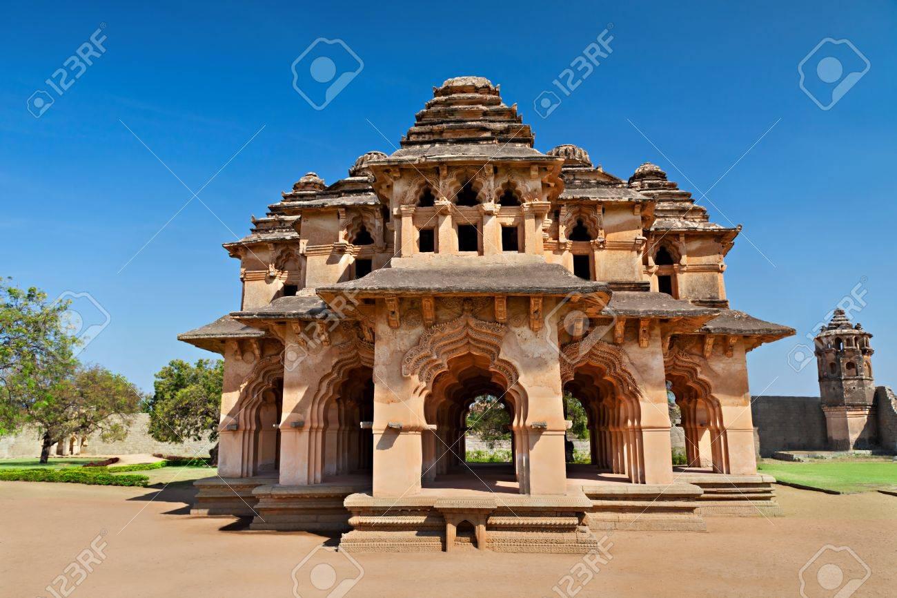 Beautiful Lotus Temple, Hampi, India Stock Photo - 15597389