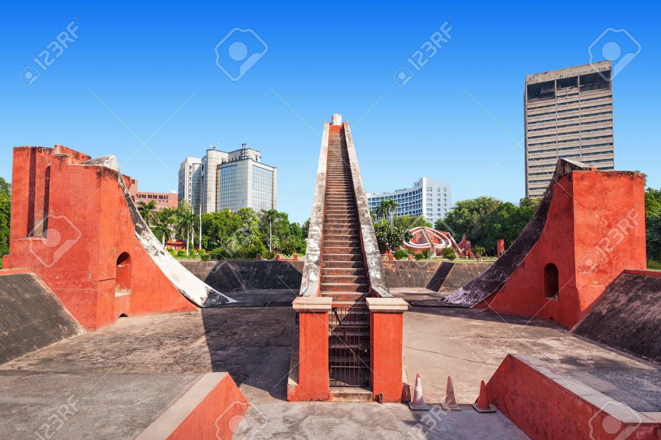 Modern Architecture Of New Delhi the jantar mantar is located in the modern city of new delhi
