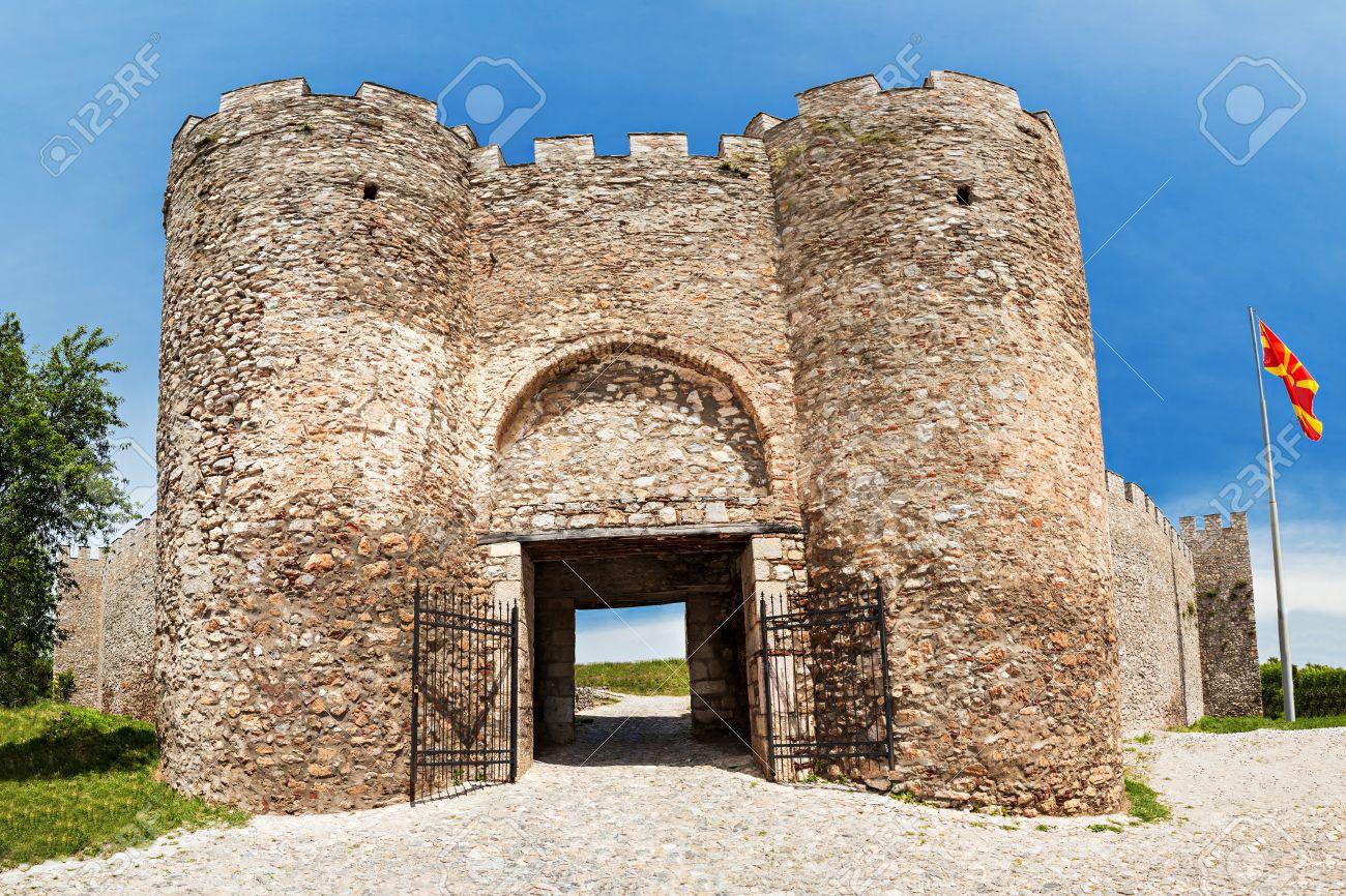 Immagini Stock - Fortezza Di Samuil è Una Fortezza Nella Città Vecchia, Ohrid, Macedonia Image 28105838.