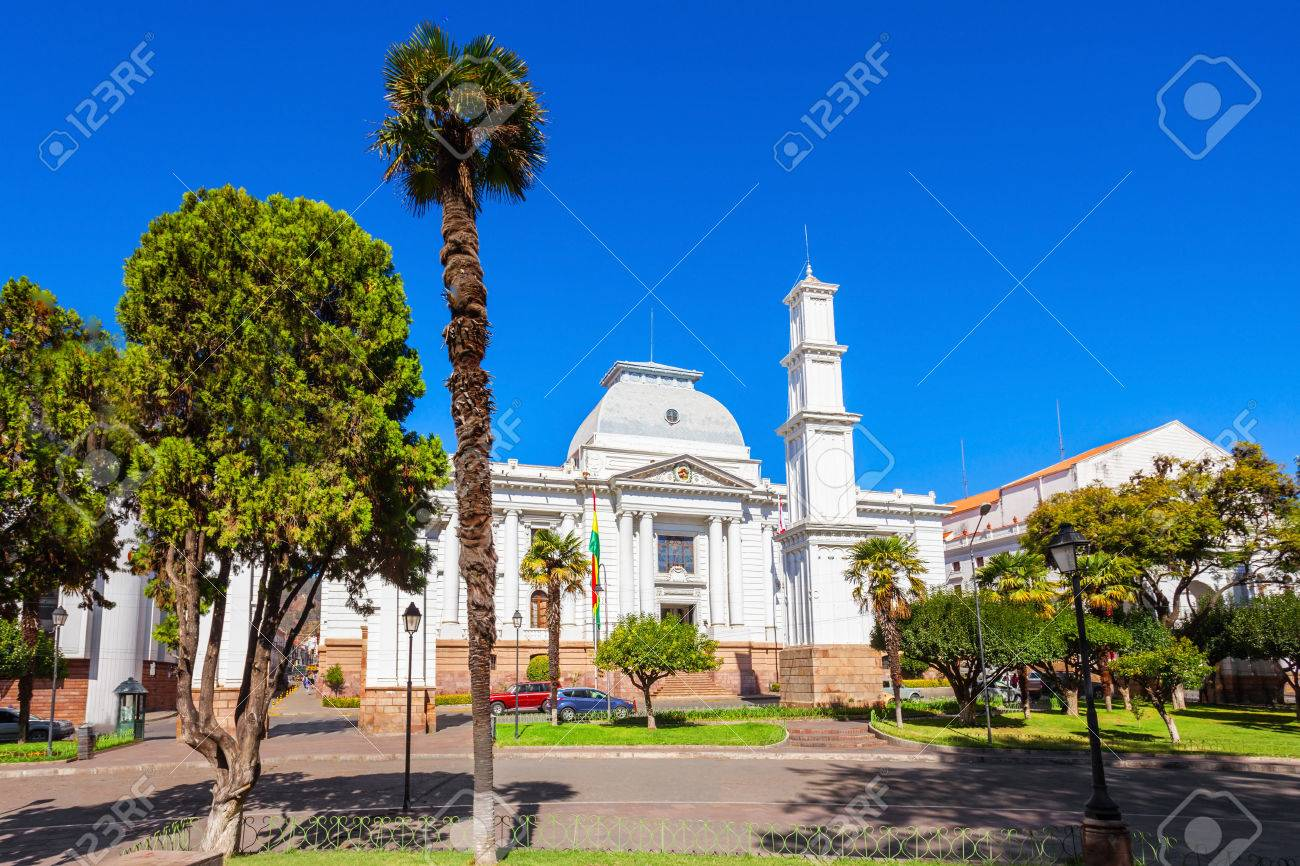 Supreme Court Of Bolivia In Sucre Is Located In Sucre The Constitutional Stock Photo Picture And Royalty Free Image Image 53877855