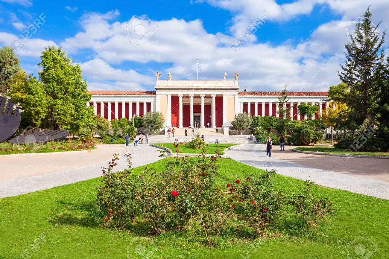 The National Archaeological Museum in Athens houses the most important artifacts from a variety of archaeological locations around Greece from prehistory to late antiquity. - 75772404