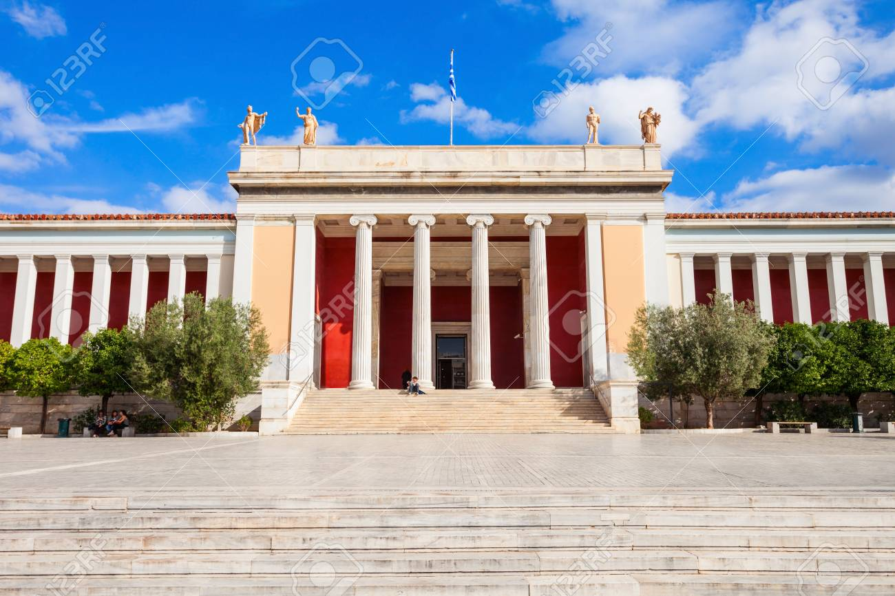 The National Archaeological Museum in Athens houses the most important artifacts from a variety of archaeological locations around Greece from prehistory to late antiquity. - 89339245