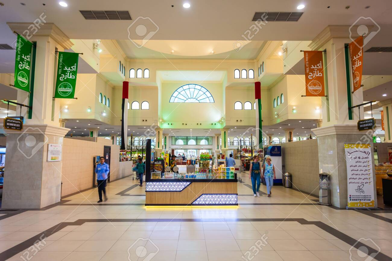 SHARJAH, UAE - MARCH 01, 2019: Souq al Jubail or Jubail Souk