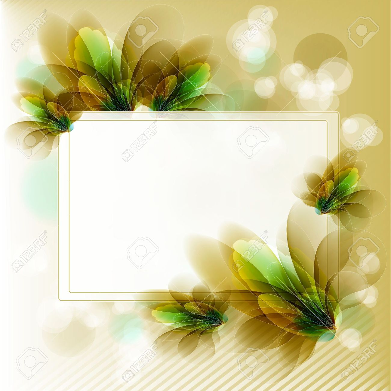 Flowers bright a background are more transparent Stock Vector - 11016264