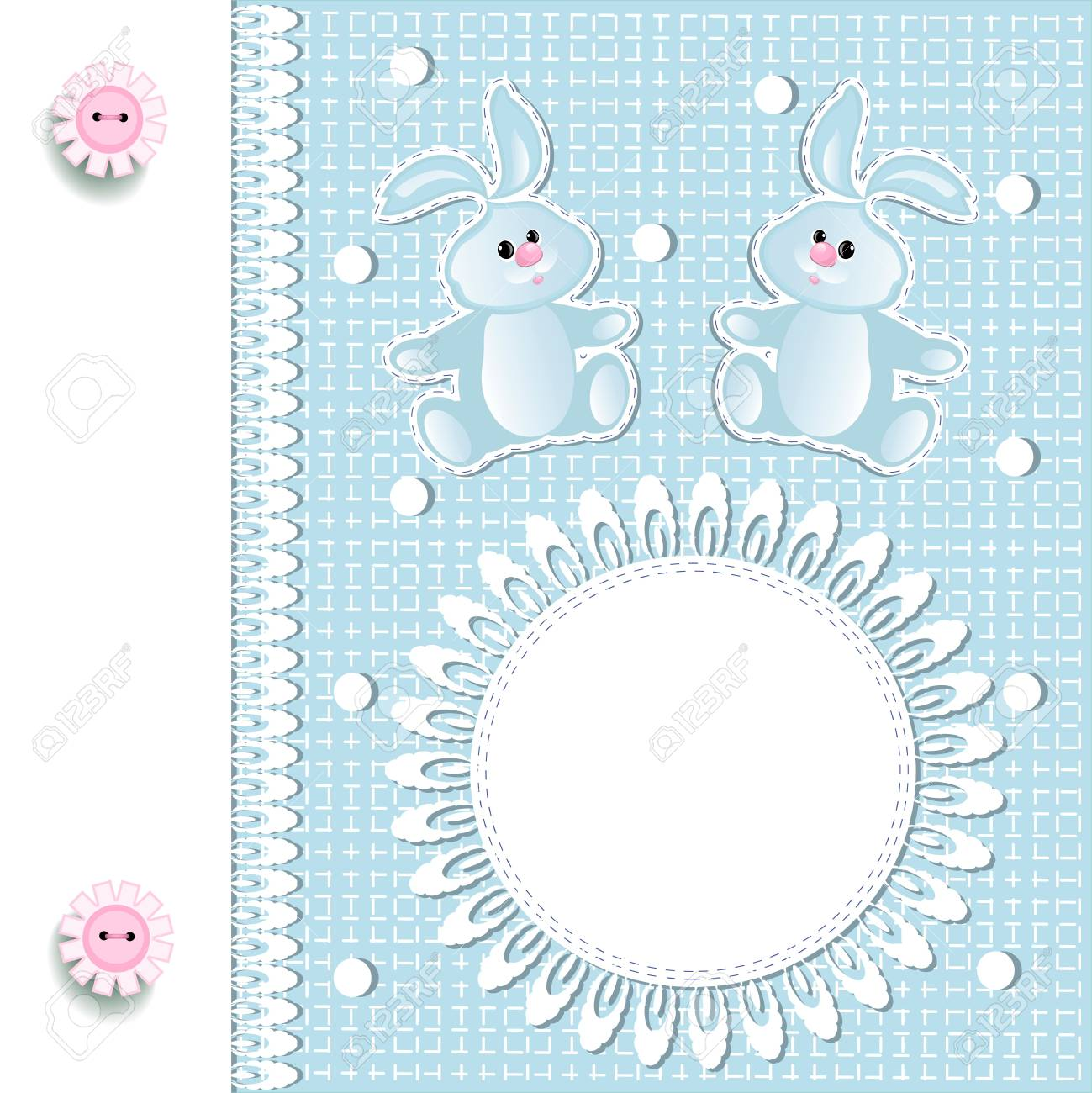 baby arrival Stock Vector - 16398798
