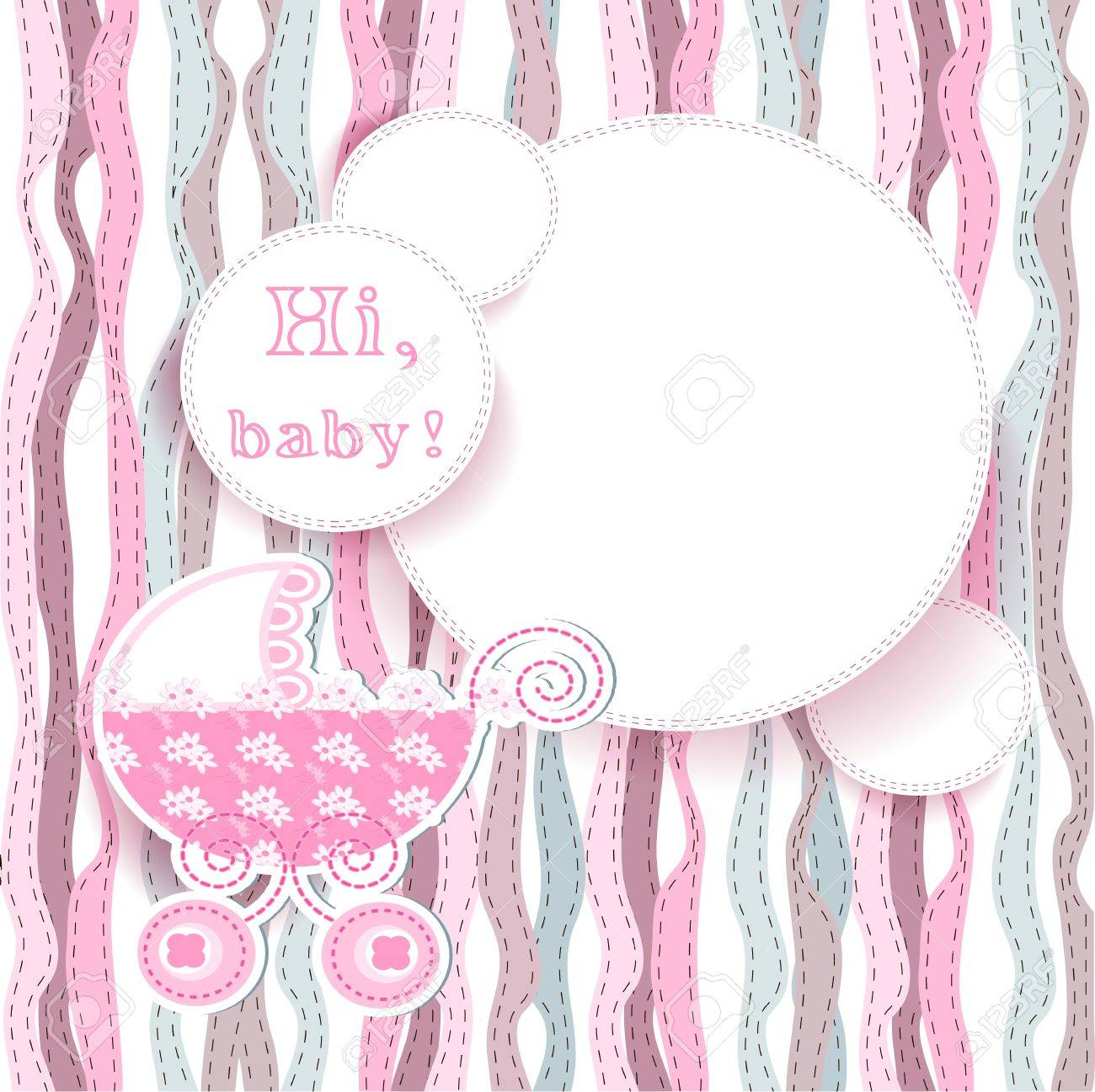 baby arrival Stock Vector - 16398778