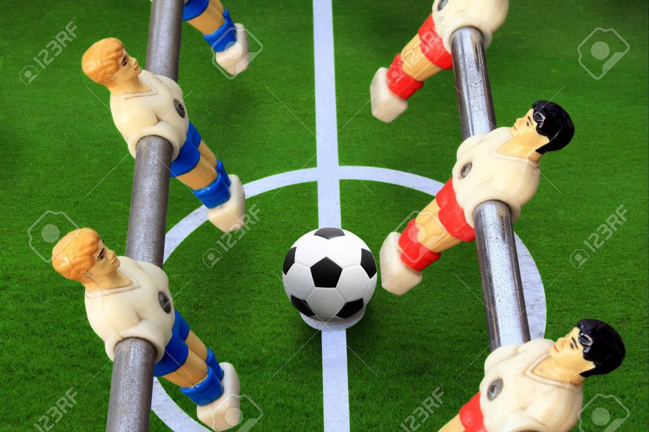 Table Soccer Es Un Juego De Mesa Que Simula El Futbol En El Que