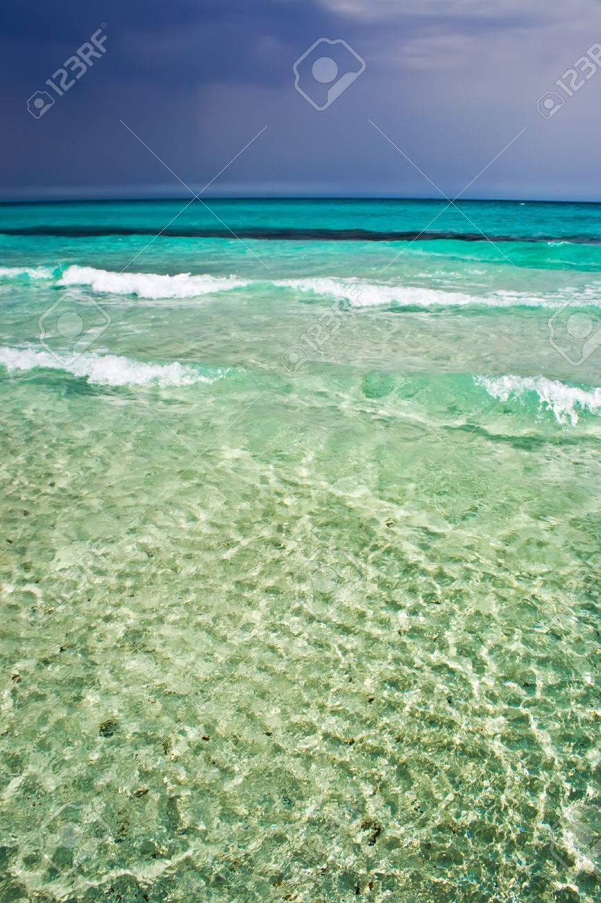 Sunny And Stormy Weather In Sardinia, Italy Stock Photo, Picture ...