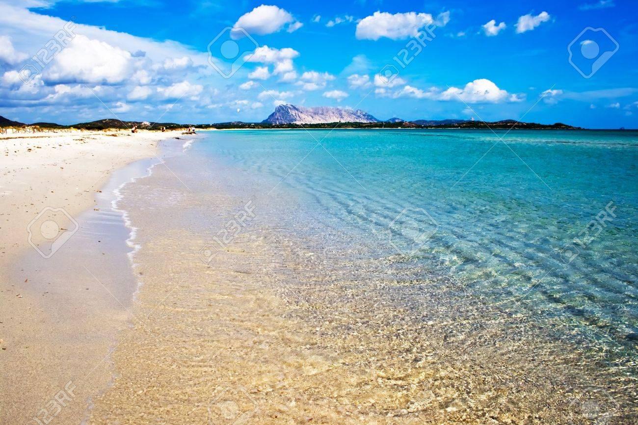 Sandy beach Cinta near San-Teodoro, Sardinia, Italy Stock Photo - 4425970