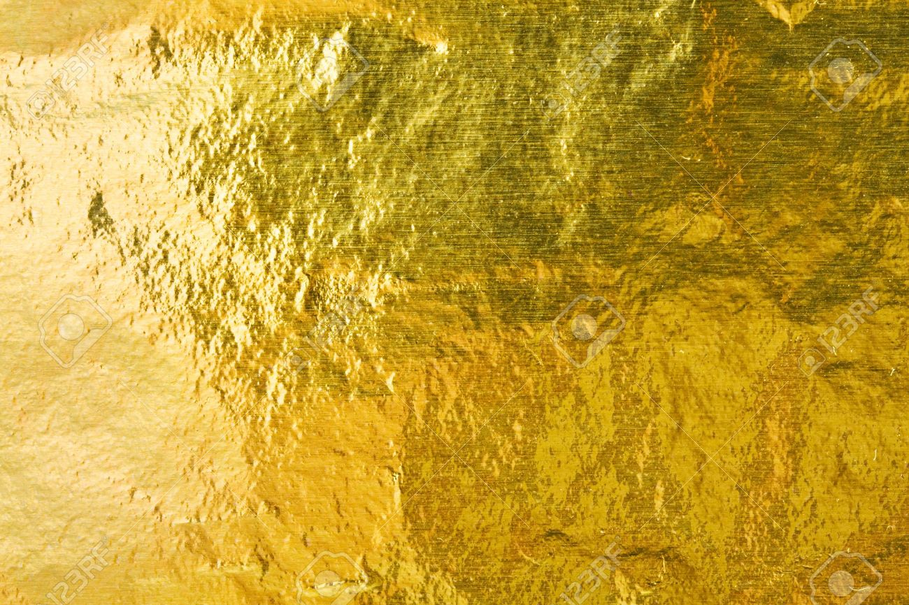 Gold foil abstract texture Stock Photo - 6367836