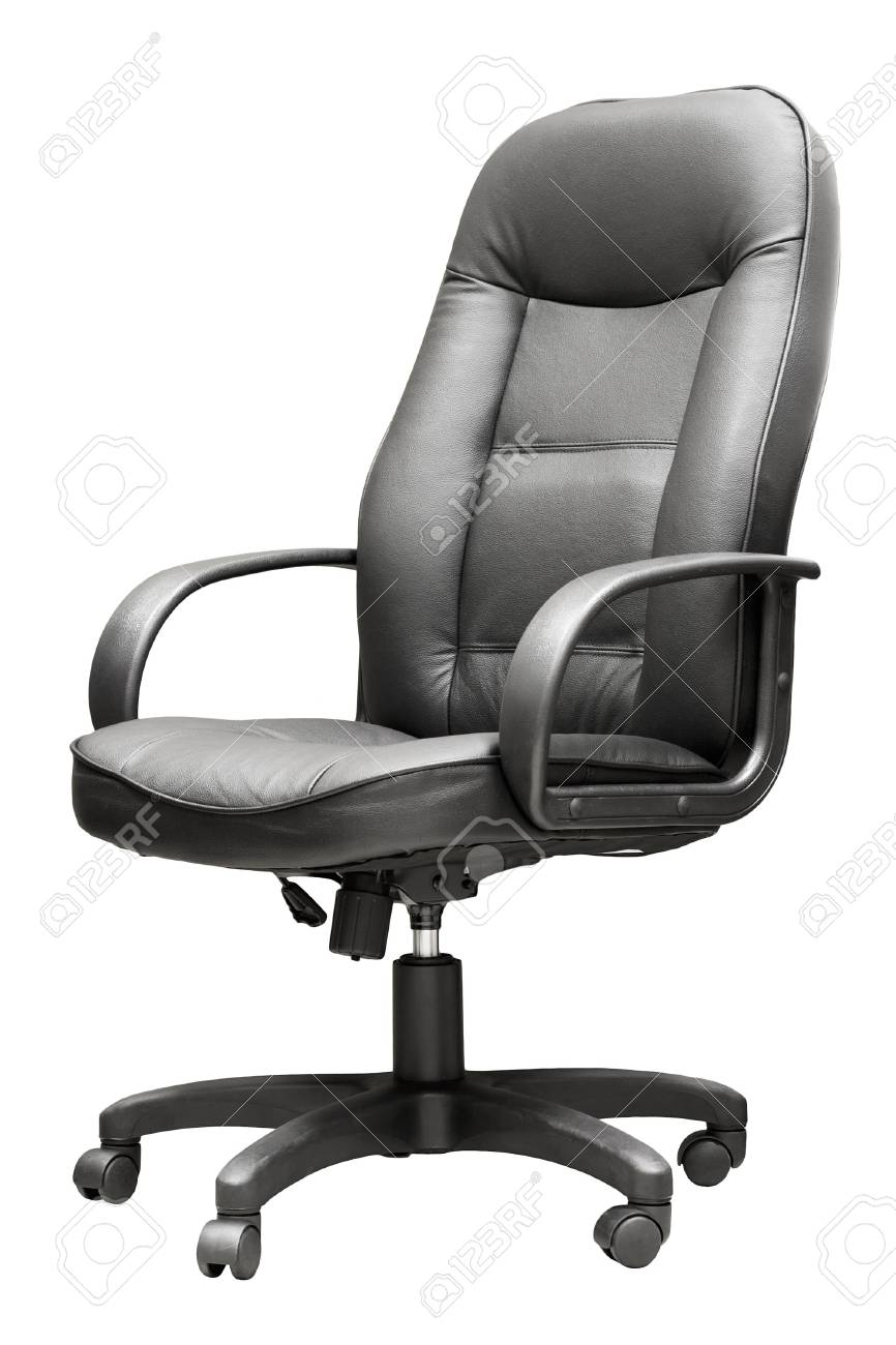 Comfortable leather manager's armchair on the isolated background Stock Photo - 6367843